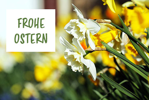 frohe ostern spruch
